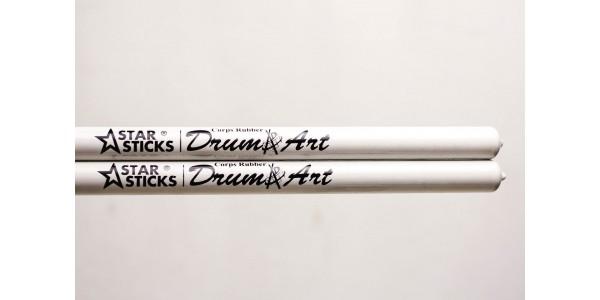 StarSticks DrumArt Corps White Rubber