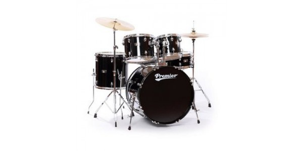 Ударна установка Premier 6192BK-S OLYMPIC STAGE 22 BLACK WRAP